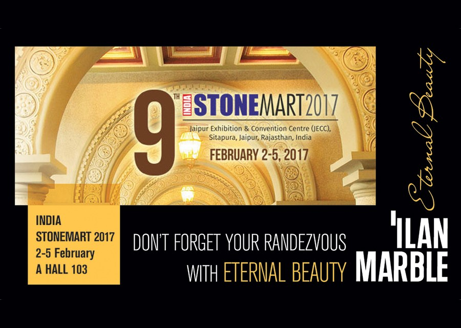 Ilan Marble Is Preparing To Attend Stone Mart'17